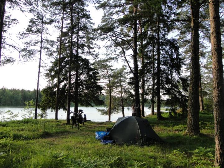 frei campen schweden